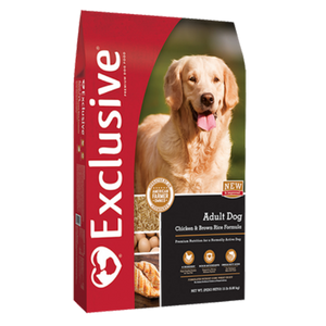 Exclusive Chicken & Rice Formula Adult Dog Food