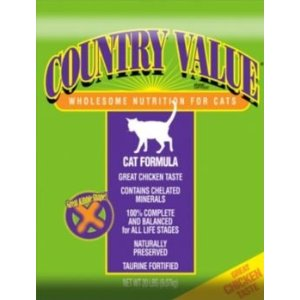 Country Value Cat ffood