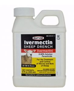 invermectin sheep drench