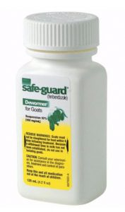 Safe Guard Goat Dewormer
